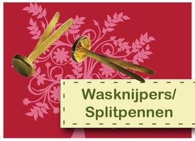 Wasknijpers/splitpennen