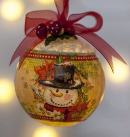 Voorbeelden Krimpfolie kerstballen