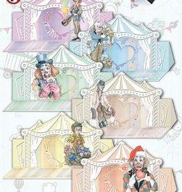 Creatief Art Kaartenpakket Staf wesenbeek Circus