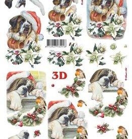 Le Suh Uitdrukvel kerst hond