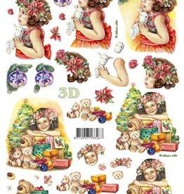 Le Suh Uitdrukvel kerst meisje