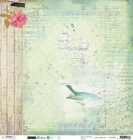 Studiolight SCRAP (10) 200 G. DUBBELZIJDIG, 304X304 MM, ROMANTIC BOTANIC 02