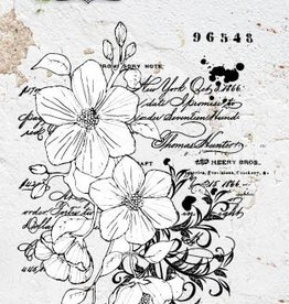 Studiolight STAMP (1) A6 ROMANTIC BOTANIC NR.220