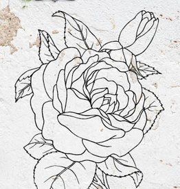 Studiolight STAMP (1) A6 ROMANTIC BOTANIC NR.223