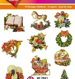 Hearty Crafts Easy 3D - Christmas