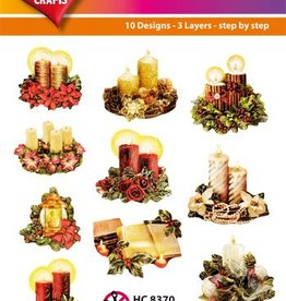 Hearty Crafts Easy 3D - Xmas 6-9 cm