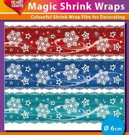 Hearty Crafts Magic Shrink Wraps, Ice Crystal (⌀ 6 cm)