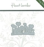 Romak Romak snijmal Heart border