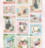 Studiolight STANSBLOK A4, CONTENT 12 SHEETS DIE CUT, SHABBY CHIC NR.51