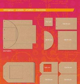 Studiolight MDF Journal (1) Mixed Media Rainbow Designs Nr. 02