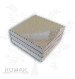 Notebooks blanke 3 stk 9x9cm