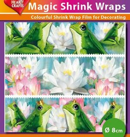 Hearty Crafts Magic Shrink Wraps, Frogs (⌀ 8 cm)