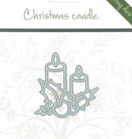Romak Romak snijmal Christmas candle