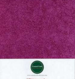 Central Craft Collection Papier pailleté fuchsia A4