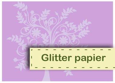 Glitter papier