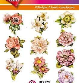 Hearty Crafts Easy 3D-Toppers -Flowers