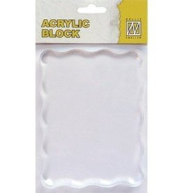 Nellie's Choice Acrylic bloc 120x90x8mm AB007