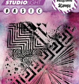 Studiolight Stamp   14 x 14 cm Basics Mixed Media Nr.258