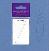 Hobby Crafting & Fun Split-eye needle, 7 cm, Platinum, 1 pce/ card