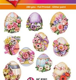 Hearty Crafts Easy 3D-Toppers Easter Eggs
