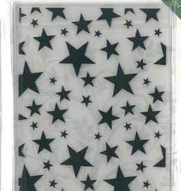 Romak Embossing folder Stars