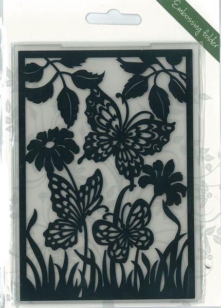 Romak Embossing folder Butterfly 2