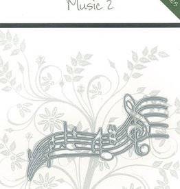 Romak Romak cutting die Music 2