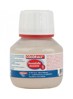 Collall Verniscolle Découpage 1 pot 50 ml