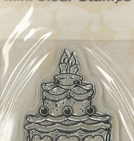 Mini Clear Stamps - Cake