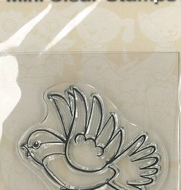 Mini Clear Stamps - Bird