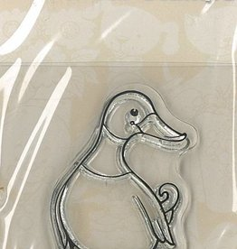 Pigo Productions Mini Clear Stamps - Duck