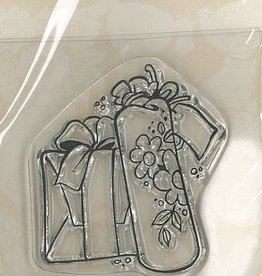 Pigo Productions Mini Clear Stamps - Gift