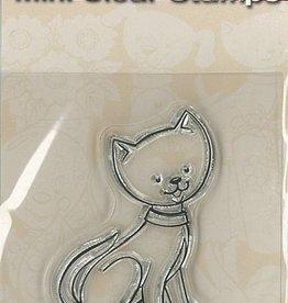 Mini Clear Frimærker - Cat