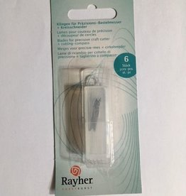 Rayher Rayher blades for precision knife + circle cutter