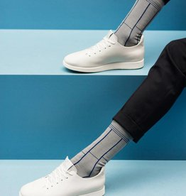 Qnoop Socks MEN Track Lines-grey