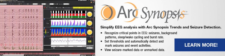 Cadwell ARC EEG Synopsis - ICU EEG system
