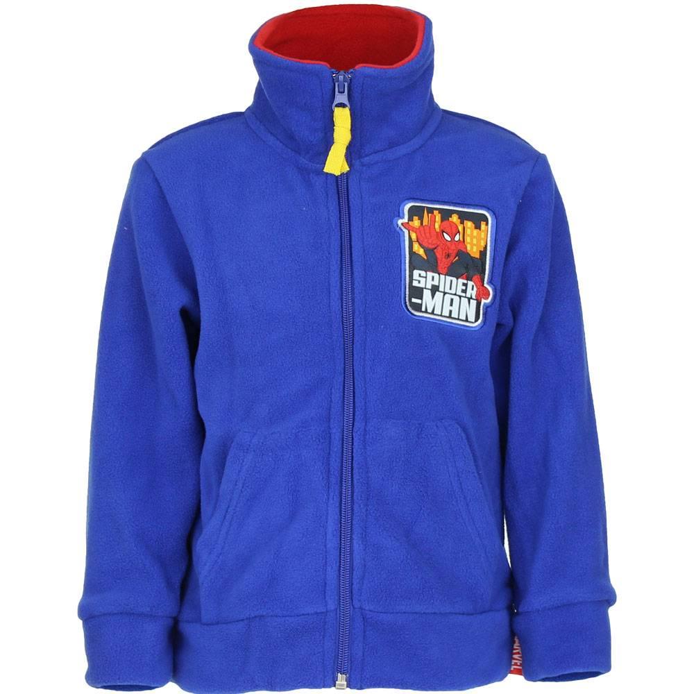 Marvel   Spiderman fleece vest maat 98, 104, 116, 128