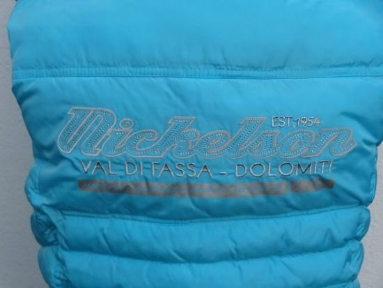 """Nickelson Nickelson meisjes bodywarmer """"Moesha"""" Sky Blue maat 128"""