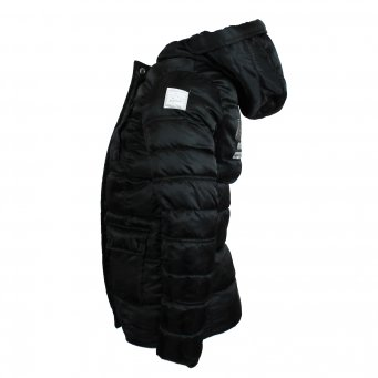 Nickelson Nickelson meisjes winterjas Loena black maat 116, 128