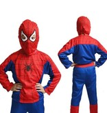 Spinnenheld verkleedpak maat S, M, L
