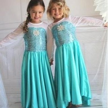 Frozen/ prinsessen verkleedjurk