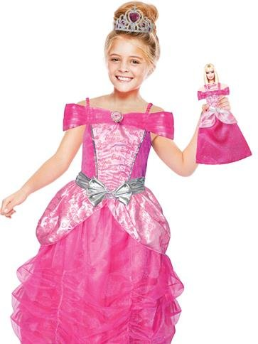 Barbie Barbie Heart Prinses met verkleedjurk Barbie pop