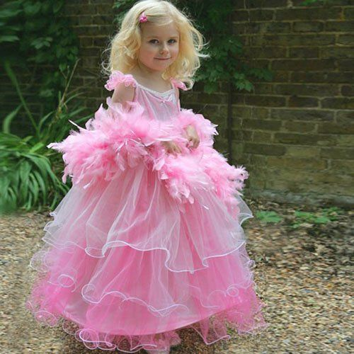 Frilly Milly Pink Prinses verkleedjurk 3/5 jaar, 6/8 jaar, 9-11 jaar