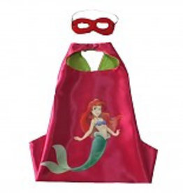 Little Mermaid cape en masker