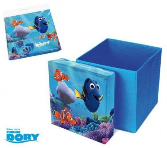 Disney Finding Dory opbergbox en pouf in 1