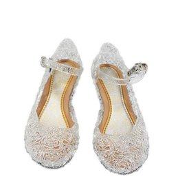 Prinsessen schoenen - zilver