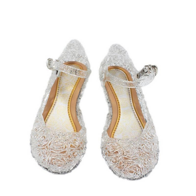Prinsessen schoenen - zilver  maat 25, 26, 27, 28, 29, 30, 31, 32, 33, 34, 35