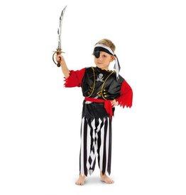 Folat Piraten kostuum de luxe