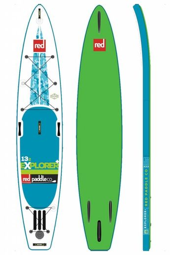 """Red Paddle Co Red Paddle Co. 13'2 x 30"""" Explorer 2017"""