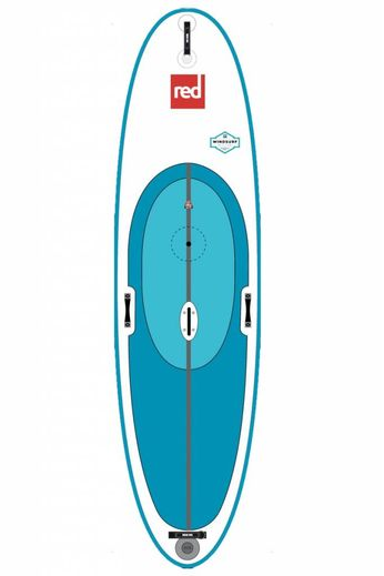 """Red Paddle Co Red Paddle Co. 10'7 x 33"""" WindSurf Package 2017"""